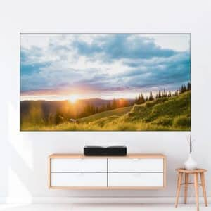VoxVibe Fixed Frame Projection Screen