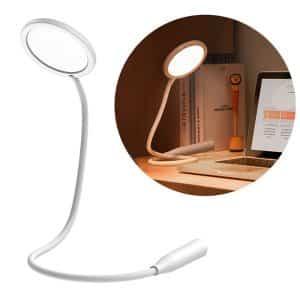 Baseus Comfort Reading Hose Desk Lamp Charging Uniform Light DGYR-02 White