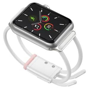 Baseus Let's Go Lockable Rope Strap for Apple Watch 38mm/40mm LBAPWA4-A24 - White/Pink