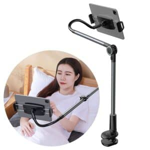 Baseus Otaku Life Rotary Adjustment Lazy Holder Applicable for Phone and Tablet SULR-B0G Dark Gray