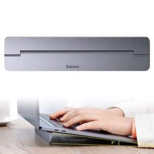 Baseus Papery Notebook Holder for PC Macbook iPad SUZC-0G Dark Gray