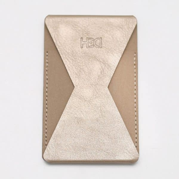 HDD Adhesive Phone Grip and Stand Gold