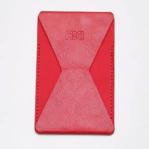 HDD Adhesive Phone Grip and Stand - Red