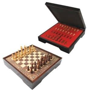Jackaroo VIP Chess Game Walnut