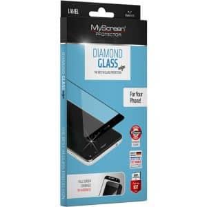 MyScreen DIAMOND GLASS edge Screen Protector for Samsung Galaxy Note 20 Black