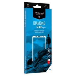 MyScreen DIAMOND GLASS edge3D Screen Protector for OnePlus 8 - Black