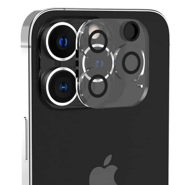 Araree C-SUB CORE Full Cover Camera Lens Tempered Glass for iPhone 13 Pro 6.1-Inch/iPhone 13 Pro Max 6.7-Inch IP21PMX-CSUB-CL - Clear