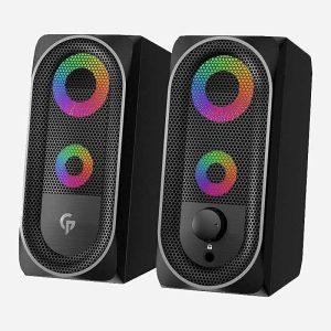 Porodo Stereo Gaming Speakers 10W Black