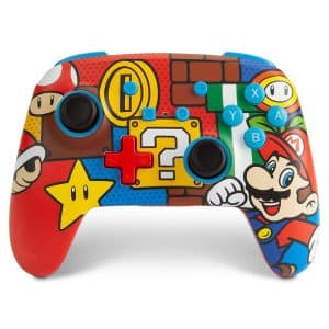 PowerA Enhanced Wireless Controller for Nintendo Switch Mario Pop