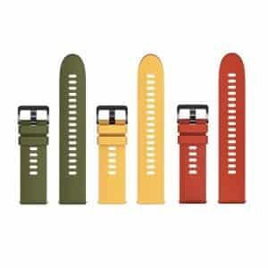 Xiaomi Mi Watch Strap (3 Pack) - Olive/Yellow/Orange