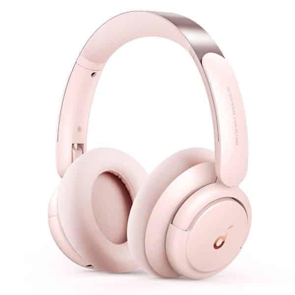 Anker Soundcore Life Q30 Hybrid Active Noise Cancelling Headphones Sakura Pink