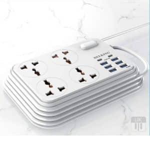 Belking Power Strip 6 USB + 4 Power Socket + 2 Type-C Port BK-3605 White