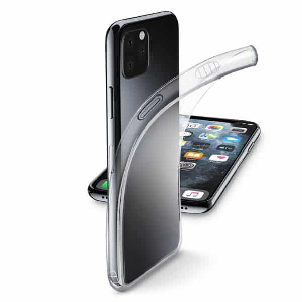 Cellularline Fine Ultra-Thin Soft Rubber Case for iPhone 11 Pro Max Transparent
