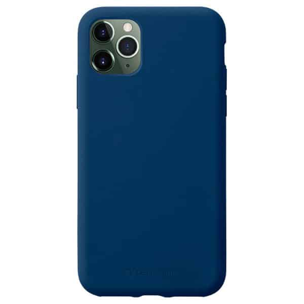 Cellularline Protect Sensation Soft-Touch Silicone Case for iPhone 11 Pro - Blue