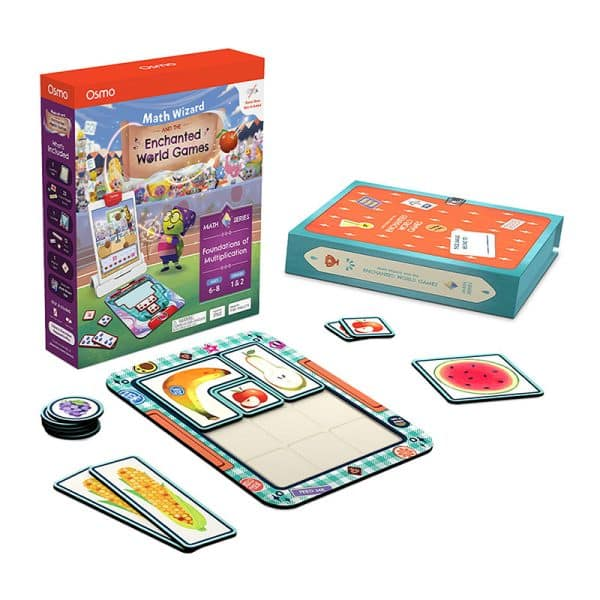 Osmo Math Wizard and The Enchanted World Games for iPad & Fire Tablet