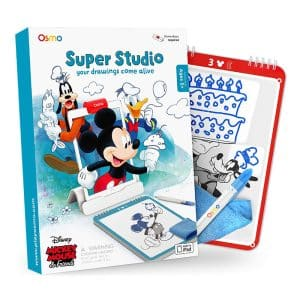 Osmo Super Studio Disney Mickey Mouse and Friends Game for iPad & Fire Tablet