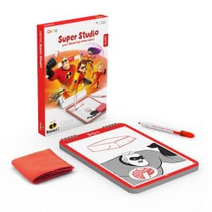Osmo Super Studio is a fun and magical experience for young kids to discover the creativity of drawing through connecting with characters and stories.