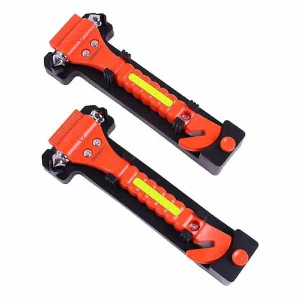 VicTsing 2 Pack Car Safety Hammer