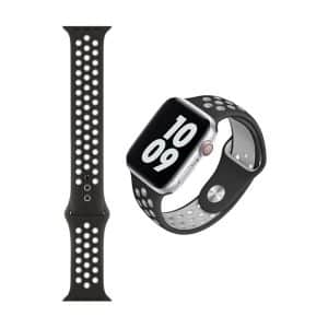 WiWU Dual Color Sport Band Watchband For iWatch 42-44mm Dark Gray