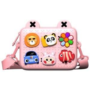 WiWU Eva Children Trendy Crossbody Bag Pink