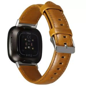 WiWU Leather Watchband for iWatch 42-44mm Brown
